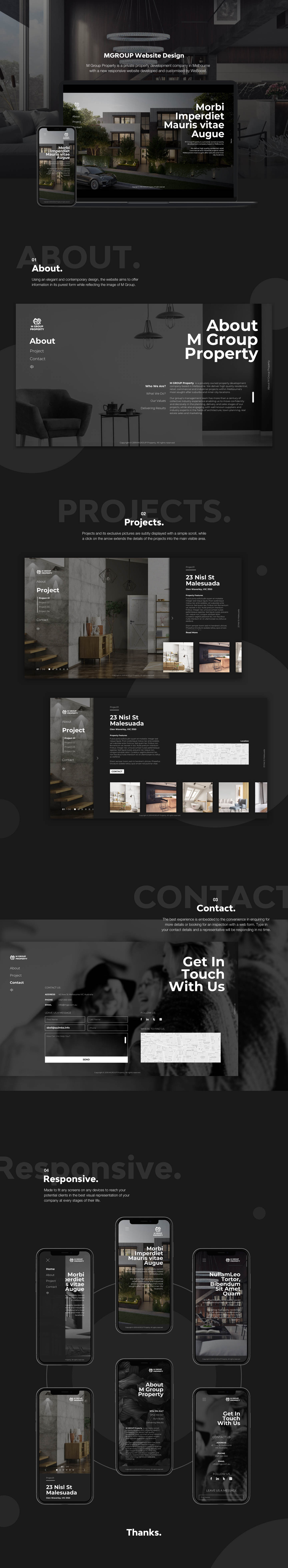 M group property website