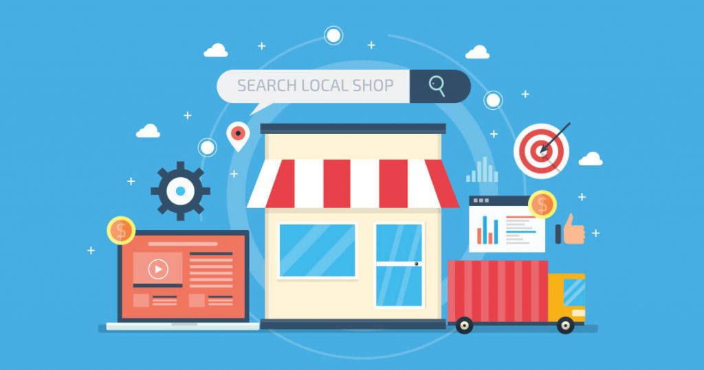 search local shop graphic