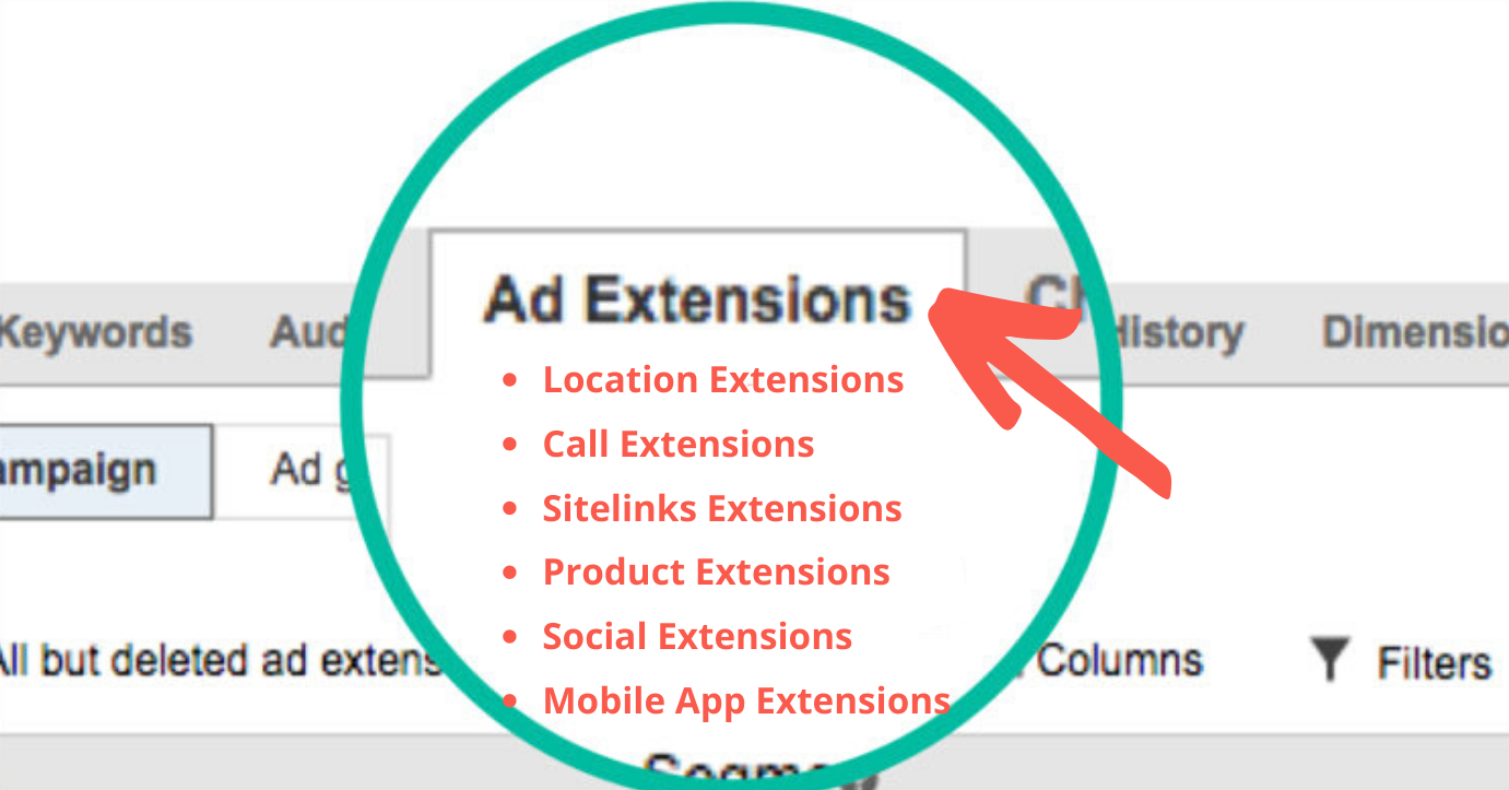Add extensions